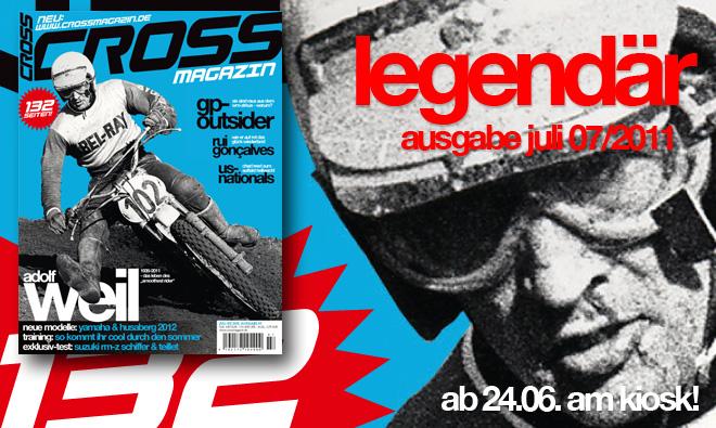 Inhalt CROSS #7, Ausgabe Juli 07/2011
