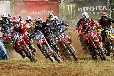 Start zum Quali-Race der MX-Damen