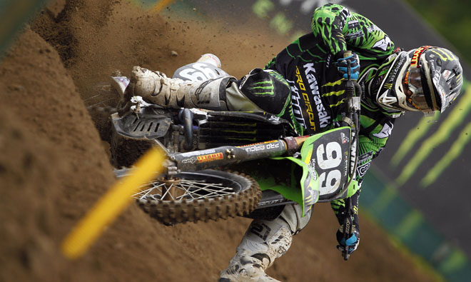Riding with Anstie and Paulin at GP of Sweden