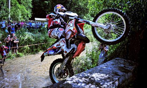 Chris Birch noch mit KTM-Heck