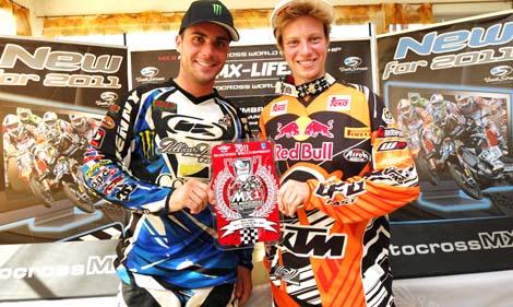 Wer kann Julien Bill und Stephanie Laier noch vom MX3- bzw. WMX-WM-Thron 2011 stoßen?