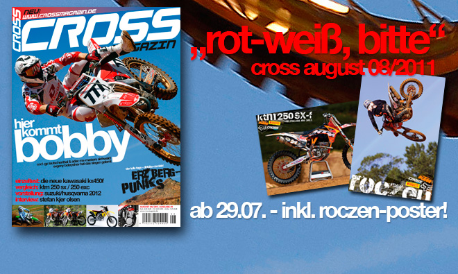 Inhalt CROSS #8, Ausgabe August 08/2011