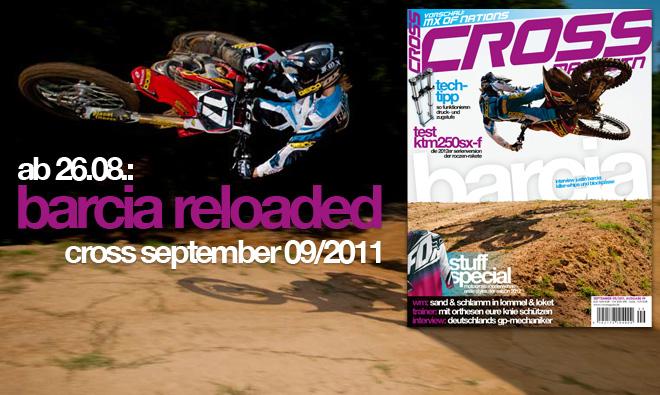 Inhalt CROSS #9, Ausgabe Sept. 09/2011