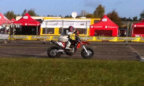 Mischko fuhr im ersten  Training auf Rang eins