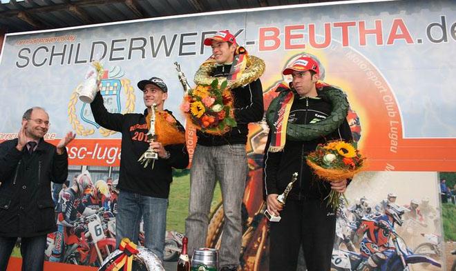 Kalli-Racing wird mit Siegl Deutscher MX2 Meister