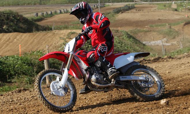 Honda: Testride in Schwandorf