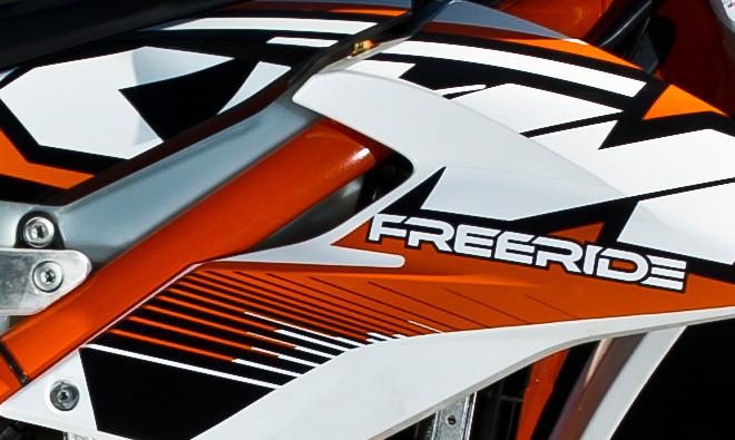 Neustart in die Leichtigkeit: KTM Freeride 350