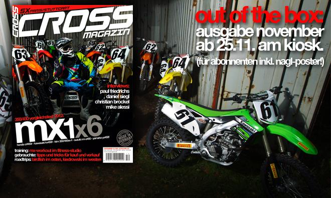 Inhalt CROSS #12, Ausgabe Dez. 12/2011