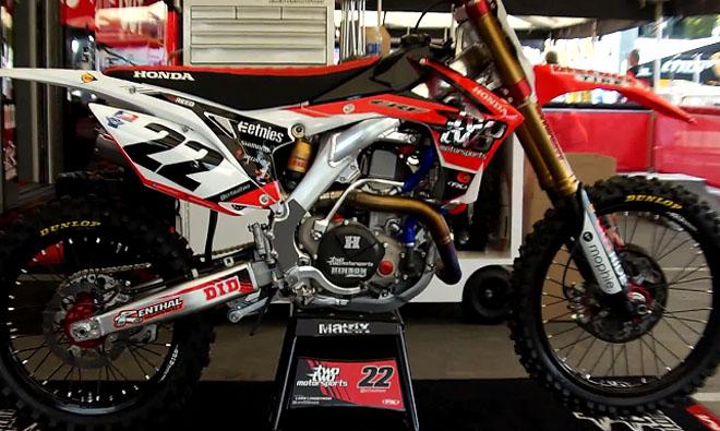 Chad Reeds SX-Honda