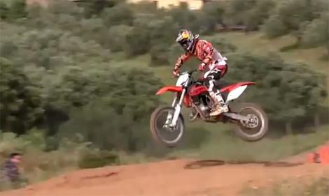 Jeffrey Herlings auf der KTM 150 SX