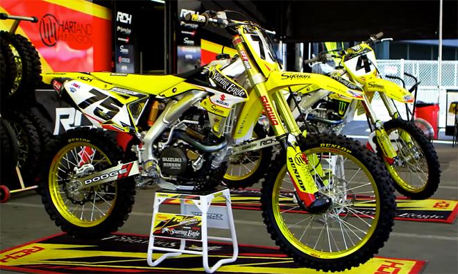Josh Hills Suzuki RM-Z450