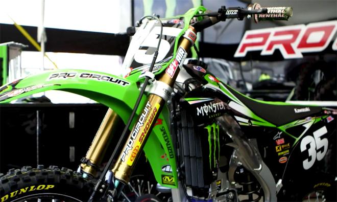 Justin Hills Kawasaki KX250F