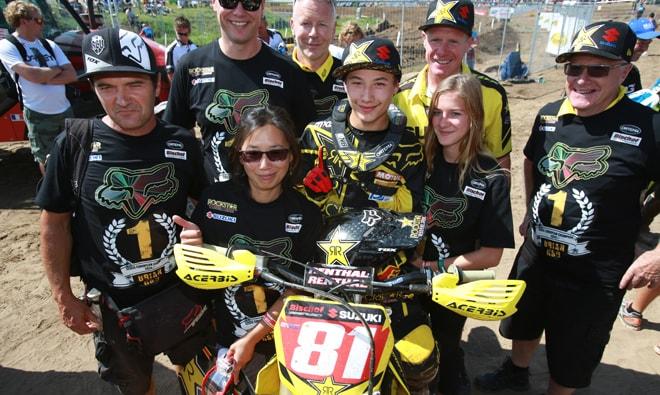 Brian und sein Team.