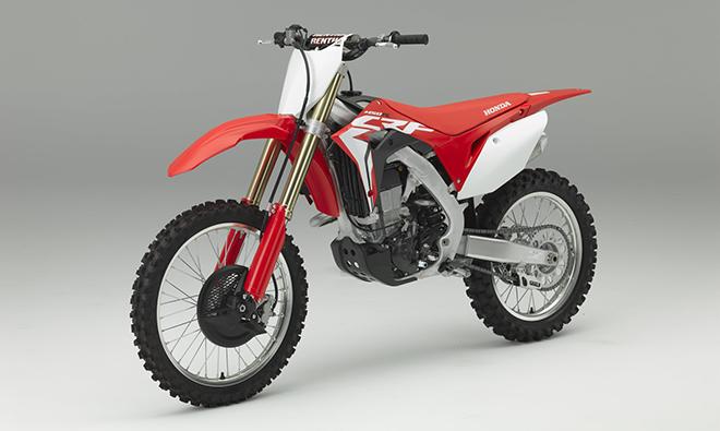 Neue Honda CRF450R