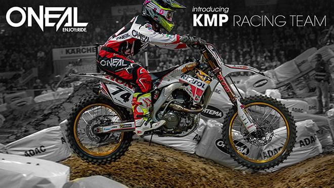 O'Neal stellt das KMP Honda Racing Team vor