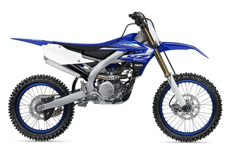 Yamaha YZ250F Modelljahrgang 2020