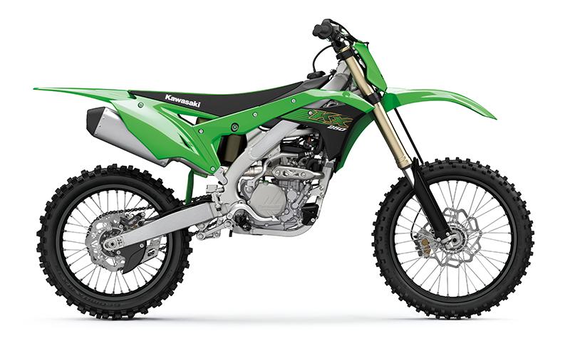 Kawasaki mit neuer KX250