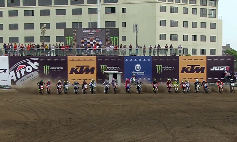 Die Qualifikation zum MXGP of China