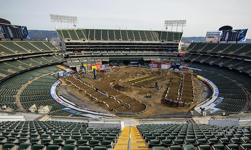 Zur 5. Runde der US-SX-Serie  geht's nach Oakland