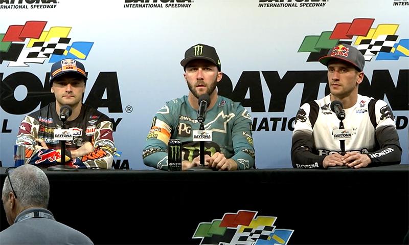 On the Podium @ Daytona